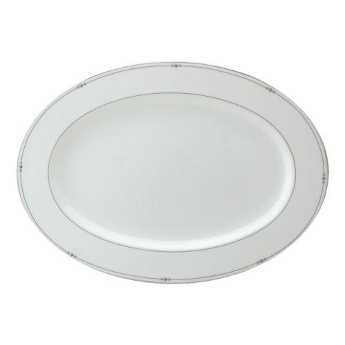 Royal Doulton Precious Platinum Oval Serving Platter