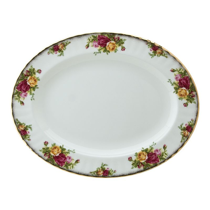 Royal Albert Old Country Roses Oval Serving Platter