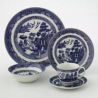 Johnson Brothers 20-pc. Willow Dinnerware Set