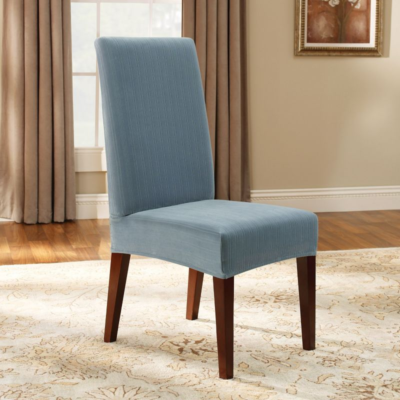 Sure Fit Pin Striped Dining Chair Slipcover DealTrend : 547173FrenchBluewid800amphei800ampopsharpen1 from www.dealtrend.com size 882 x 882 jpeg 162kB