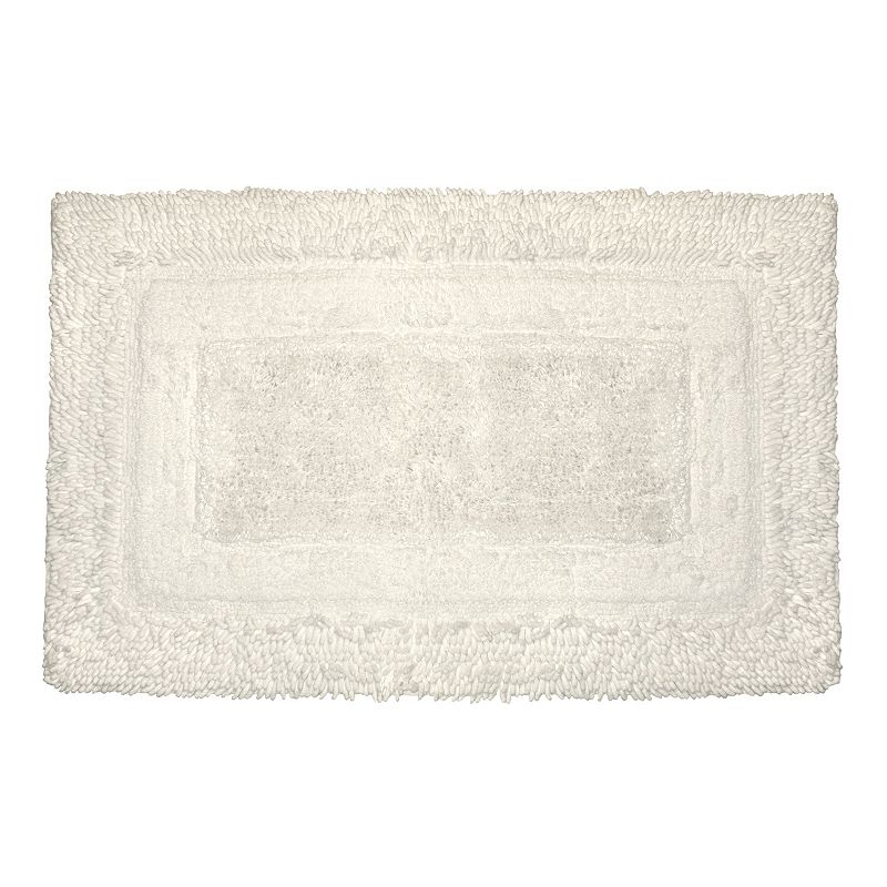 Park B. Smith Deluxe Border Bath Rug - 20 x 30