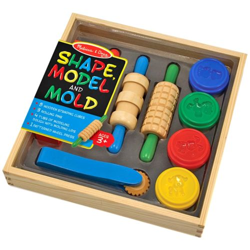 Melissa and Doug Shape, Model and Mold Modeling Clay Kit
