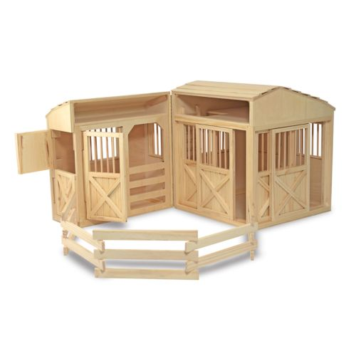 Melissa and Doug Folding Horse Stable