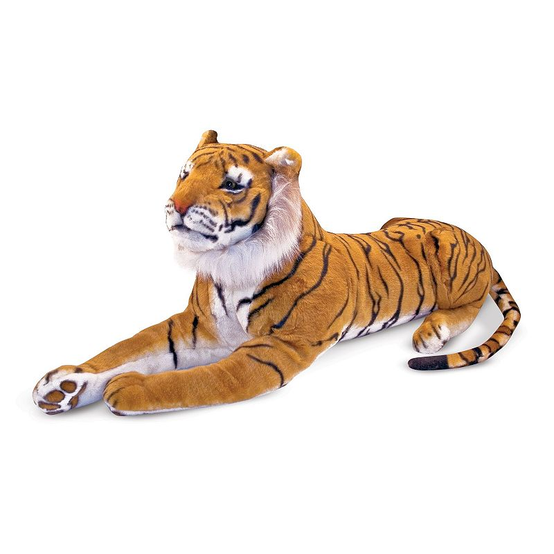 Melissa and Doug Tiger Plush Toy