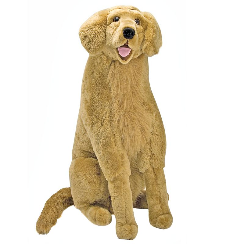 Melissa and Doug Golden Retriever Plush Toy