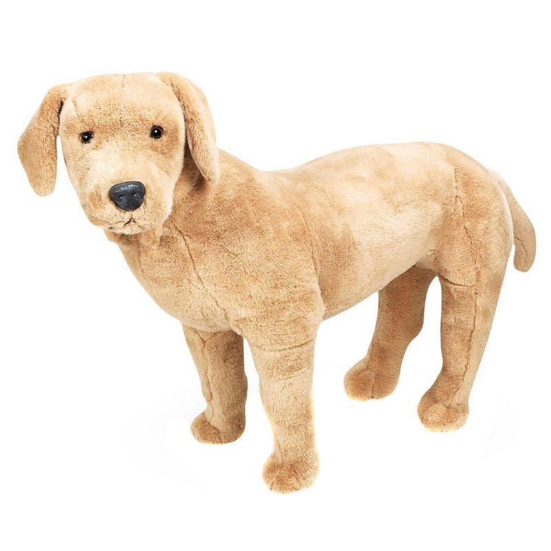 Melissa and Doug Yellow Lab Plush Toy