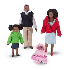 Melissa & Doug Victorian Doll Family by