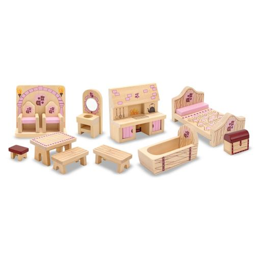Melissa and Doug Princess Castle Furniture Set