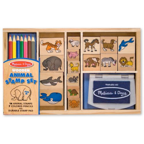 Melissa and Doug Animal Stamp Set