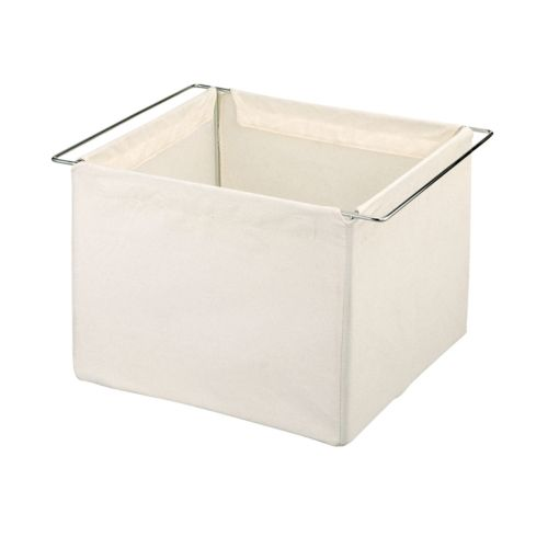 Neu Home Natural Canvas Storage Basket