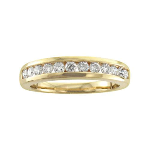 14k Gold 1/2-ct. T.W. Diamond Wedding Ring
