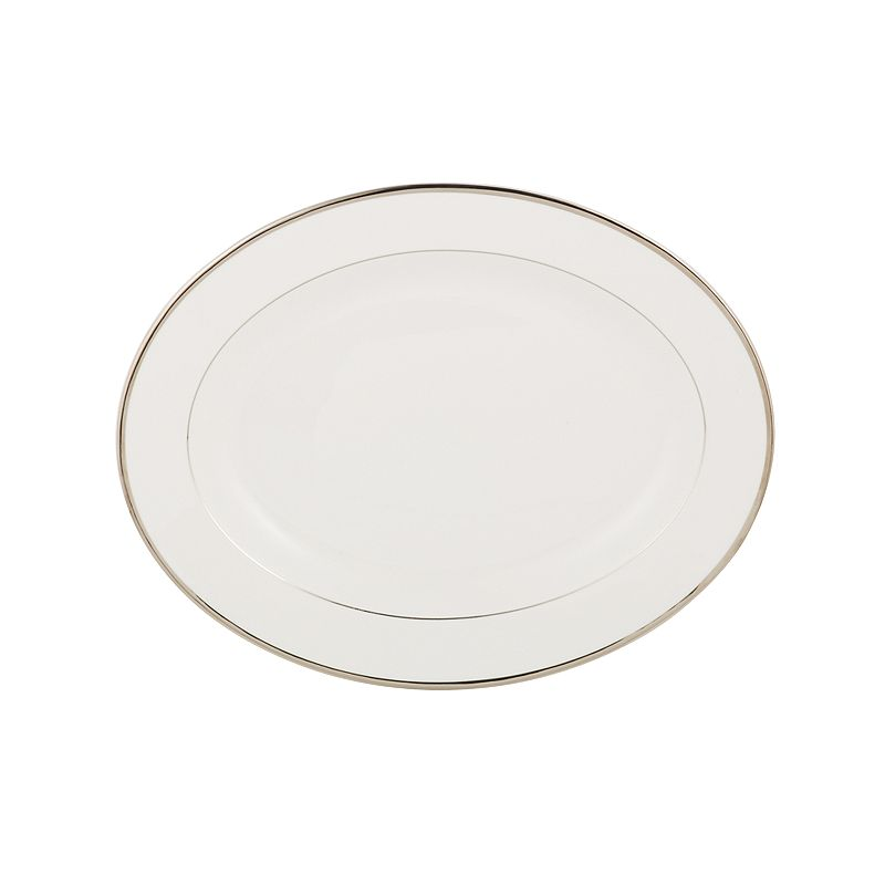 Mikasa Cameo Platinum Oval Serving Platter