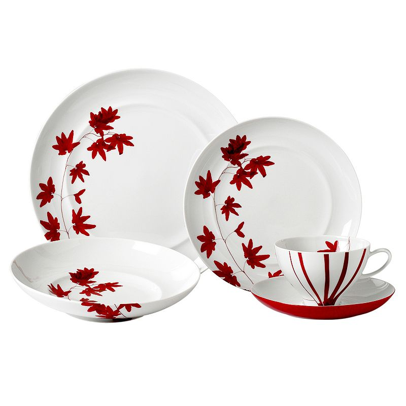 Mikasa Pure Red 5-pc. Place Setting