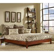 Murray Full Platform Bed, Multicolor
