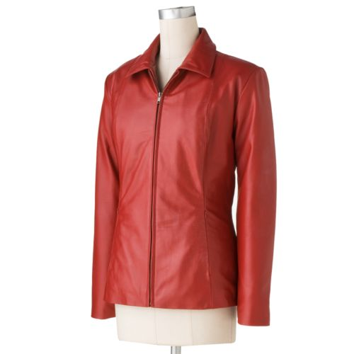 Excelled Leather Scuba Jacket