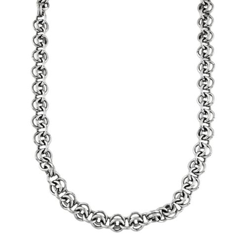 Stainless Steel Link Chain Necklace - Men