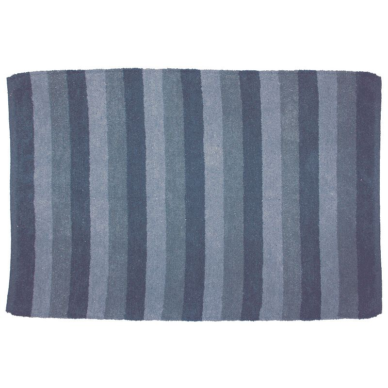 Park B. Smith Eco-Houston Striped Bath Rug - 27 x 42