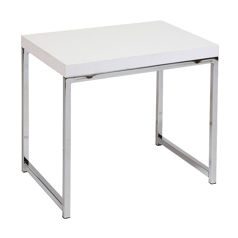 Office Star Products Avenue Six Wall Street End Table