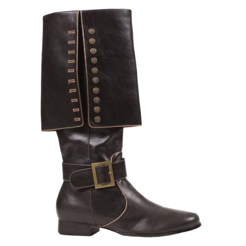 Captain Costume Boots - Adult