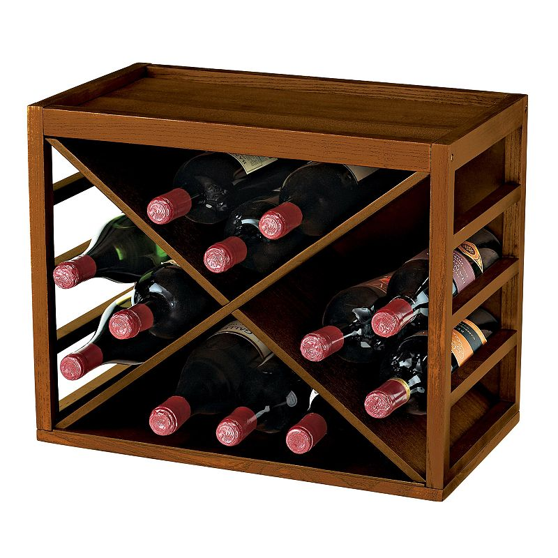 Wine Enthusiast Stackable Wine Rack