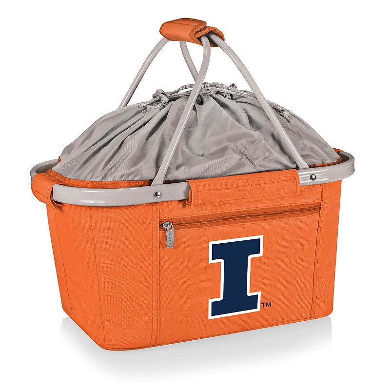 Illinois Fighting Illini Insulated Picnic Basket