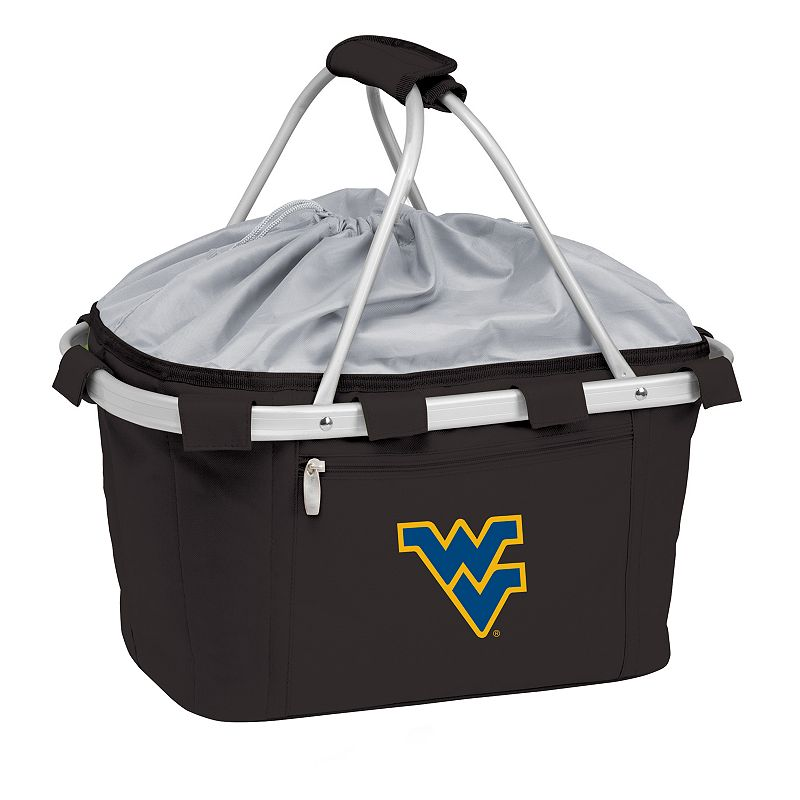 West Virginia Mountaineers Insulated Picnic Basket