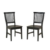 Arts & Crafts 2-pc. Dining Chair Set