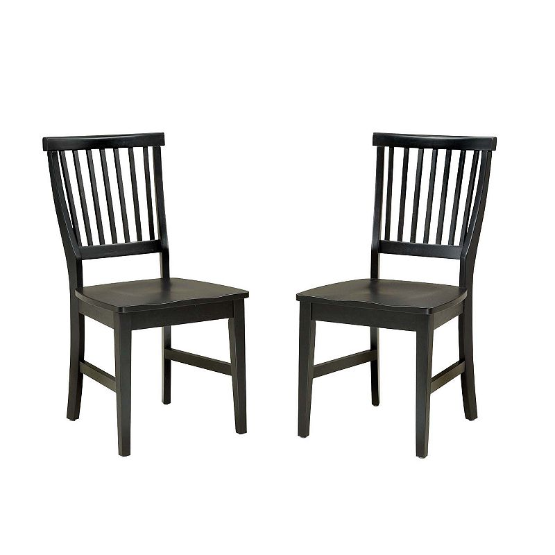 Arts and Crafts 2-pc. Dining Chair Set