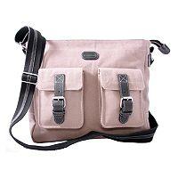 Leatherbay® Downtown Messenger Bag