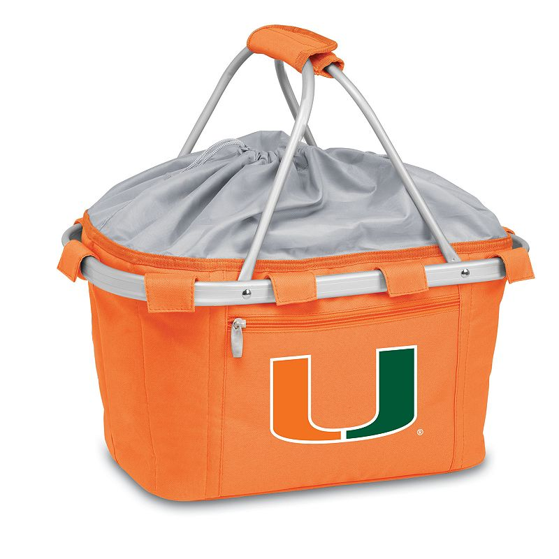 Miami Hurricanes Insulated Picnic Basket