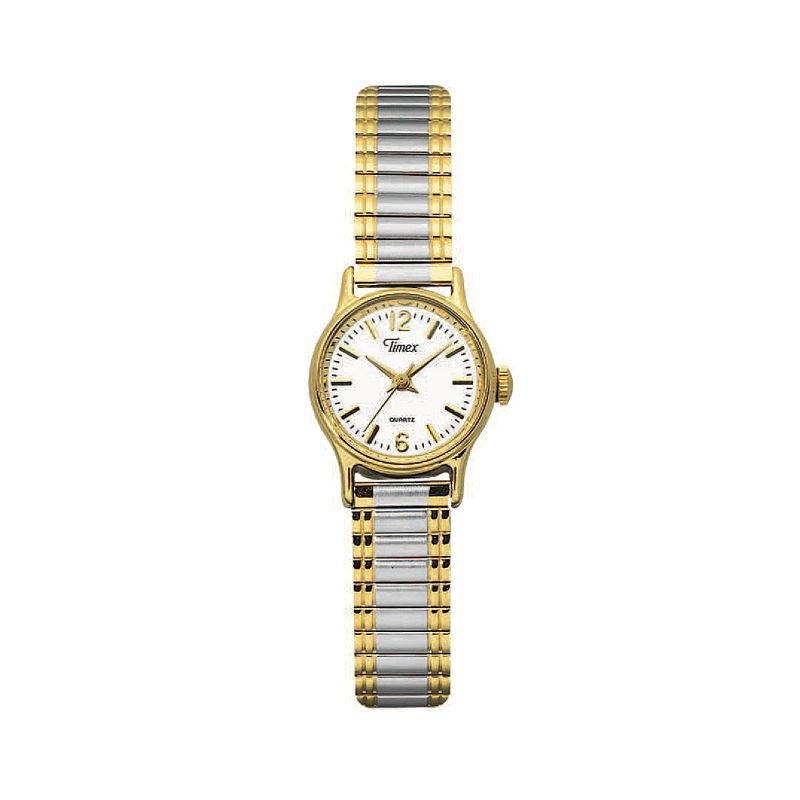 Timex Women's Two Tone Stainless Steel Expansion Watch - T53822