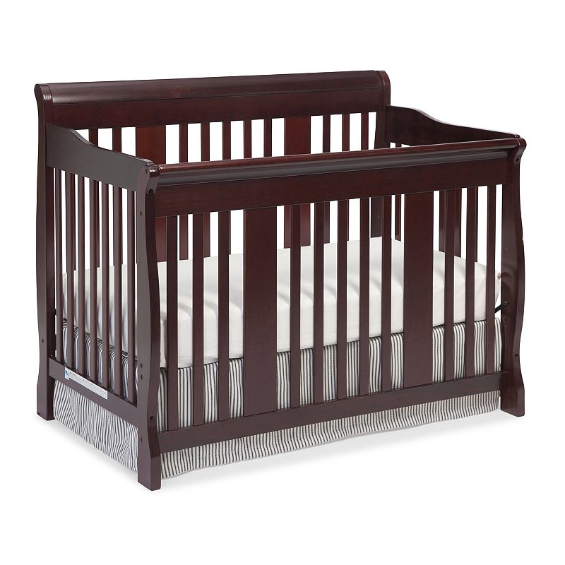 Stork Craft Tuscany 4-in-1 Wood Convertible Crib