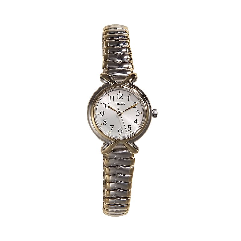 Timex Women's Two Tone Stainless Steel Expansion Watch - T21854KZ