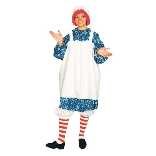 Raggedy Ann Costume - Adult