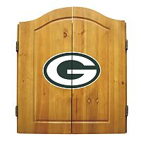 Green Bay Packers Dartboard Cabinet