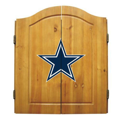 Dallas Cowboys Dartboard Cabinet