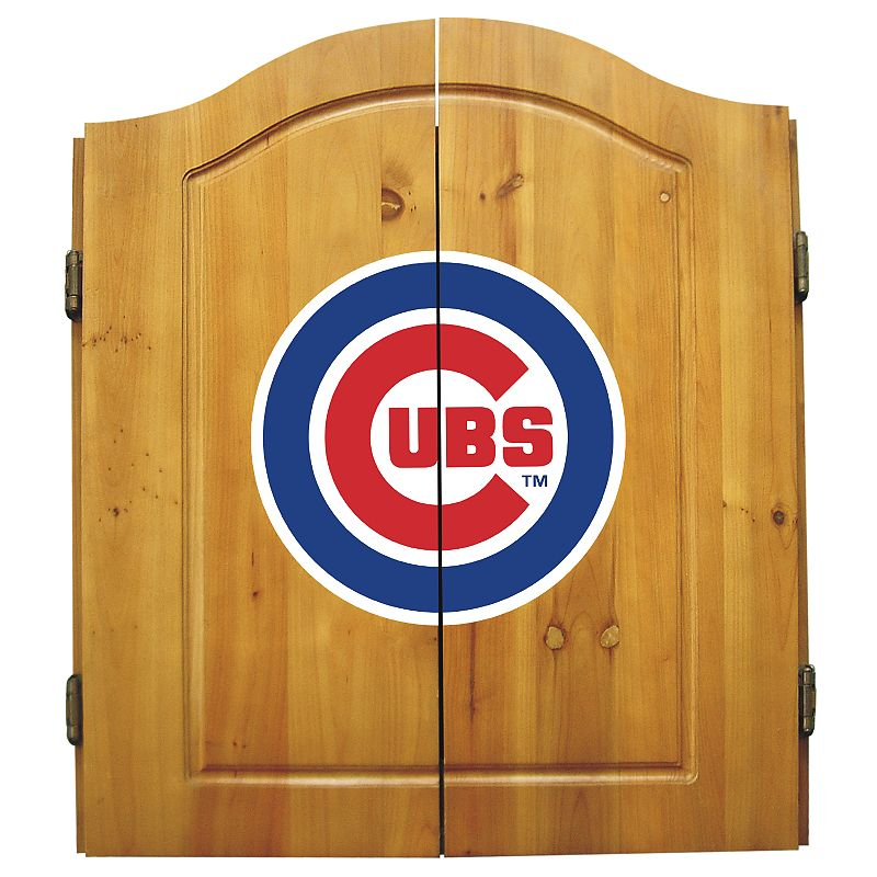 Chicago Cubs Dartboard Cabinet