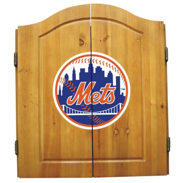 New York Mets Dartboard Cabinet