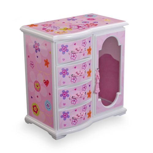Mele & Co Floral Musical Jewelry Box