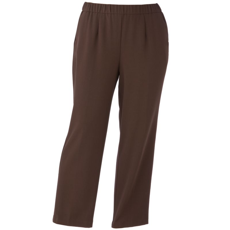womens black leather-based pants macy's
