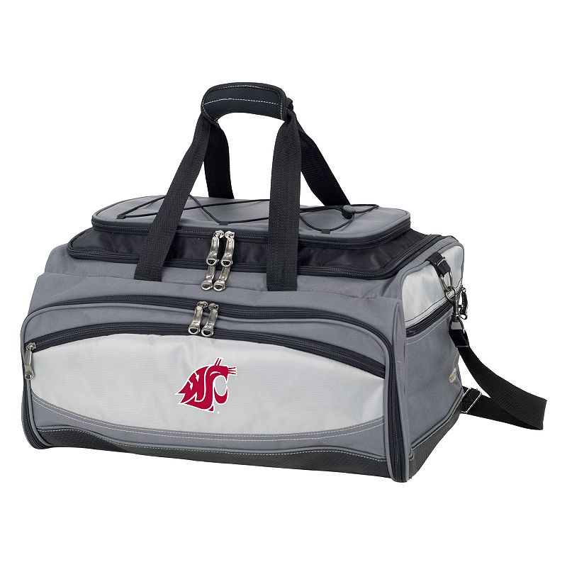 Washington State Cougars 6-pc. Charcoal Grill & Cooler Set