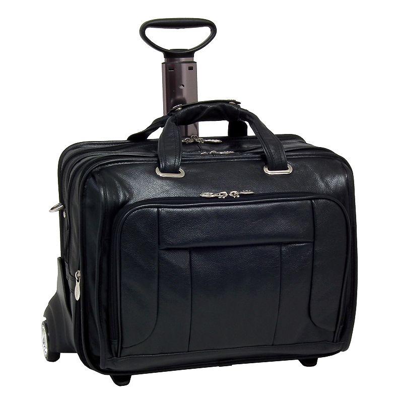 McKlein West Town Wheeled Laptop Case