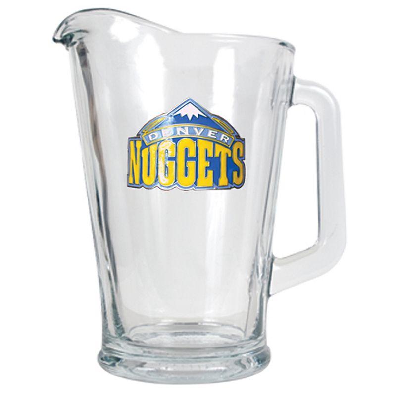 Denver Nuggets Glass Pitcher