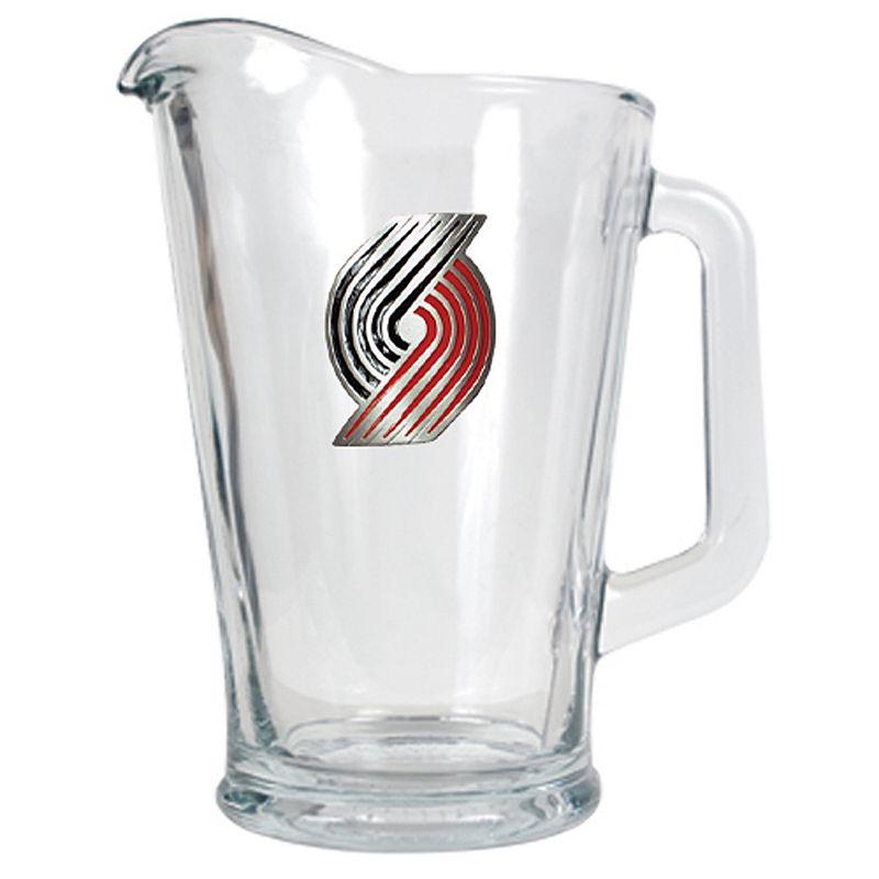Portland Trail Blazers Glass Pitcher