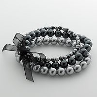 Croft & Barrow® Simulated PearlStretch Bracelet
