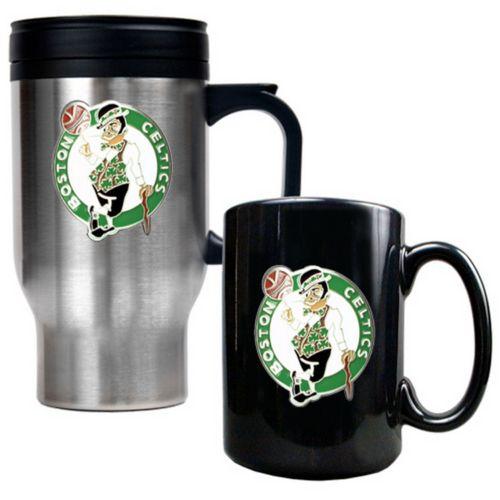 Boston Celtics 2-pc. Mug Set