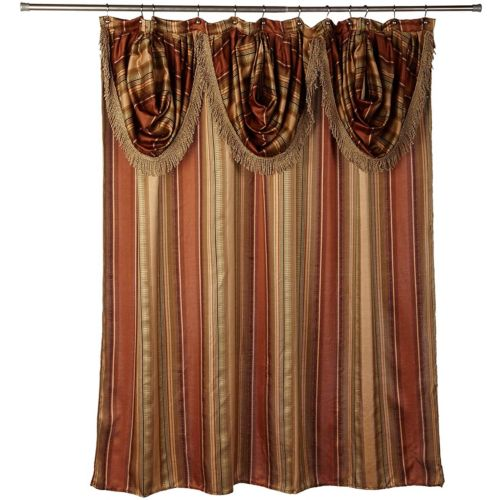 Contempo Fabric Shower Curtain