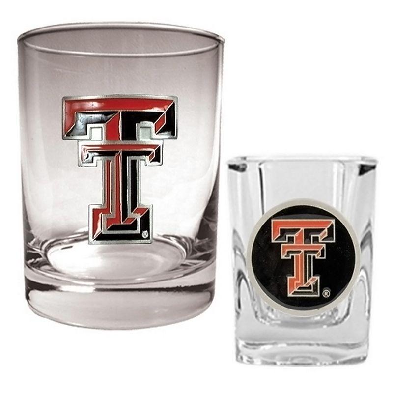 Texas Tech Red Raiders 2-pc. Rocks and Shot Glass Set