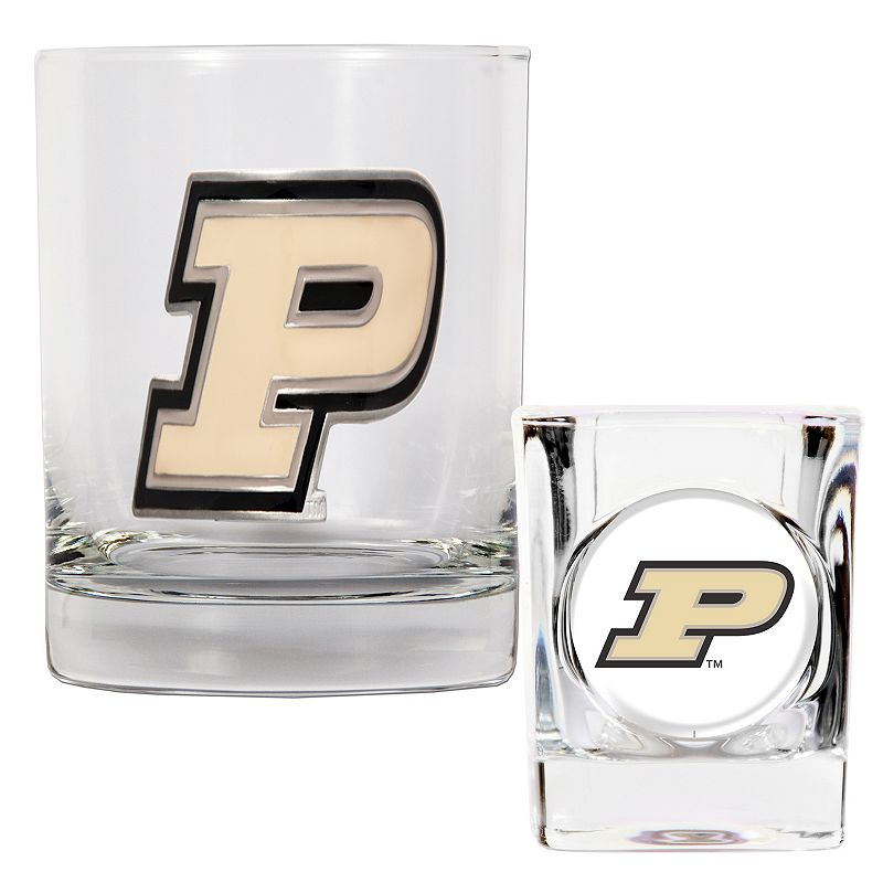 Purdue Boilermakers 2-pc. Rocks and Shot Glass Set