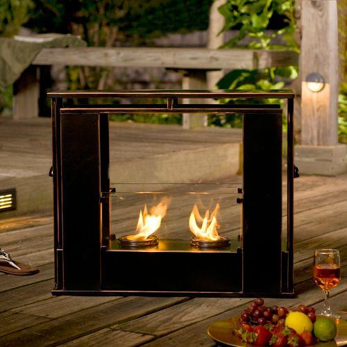 Portable Indoor and Outdoor Gel Fireplace